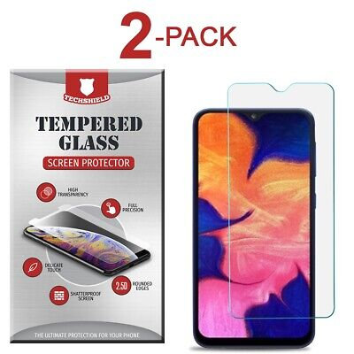 2-Pack Tempered Glass Screen Protector Film for Samsung Galaxy A10e