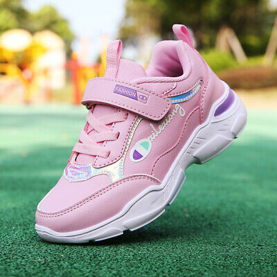 Kids Boys Girls Running Sneakers Soft Outdoor Athletic Mesh Sports Tide Shoes