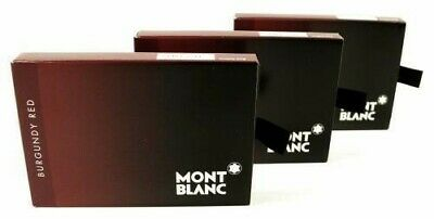 Montblanc 24 Cartouches d'encre Burgundy Red