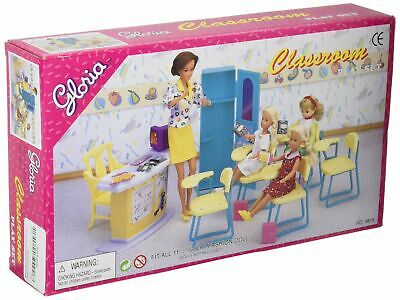 gloria Dollhouse Furniture - Classroom Play Set