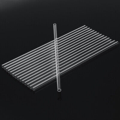 10Pcs 150mm OD 11mm 2.2mm Thick Wall Borosilicate Glass Blowing Tube