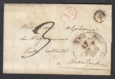 Cad Type 11 Agde Herault Boite Rurale A A Identifiee Montpellier Lettre Cover