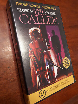 The Caller VHS Vestron Video *RARE* Thriller 80s Movie Makers of Re-Animator