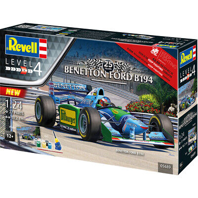 Revell 05689 Benetton Ford B194 F1 Car 25 Years Model Kit (Scale 1:24)