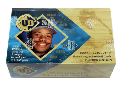 1997 Upper Deck Baseball UD3 Premiere Edition Hobby Box Sealed (24 Packs)