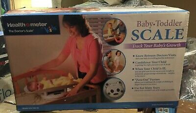 Healthometer Grow with Me 2-in-1 Baby to Toddler Scale NIB