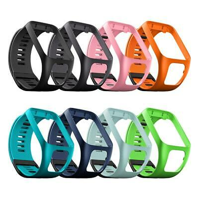 Silicone Replacement Bande de montre Wrist Band Strap for TomTom 2 3 Series Runn