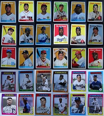 Pre-Sell 2019 Topps Archives Baseball Cards Complete Your Set Pick List 1-200