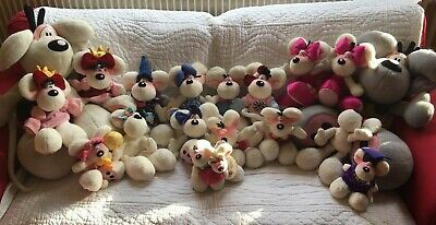 lot de 18 peluches DIDDL