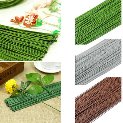 False Stem DIY Flower Twigs Iron Wire Artificial Branches Bouquet Accessories