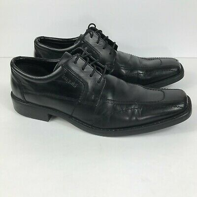 BUGATTI BROWN LEATHER Dress Shoes Men's Size Lace Up Extra