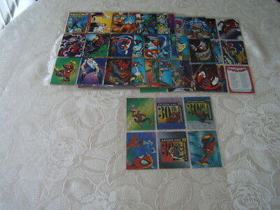 82 of 90 Comic Images 1992 30th Anniversary Spiderman II  + chase Trading cards