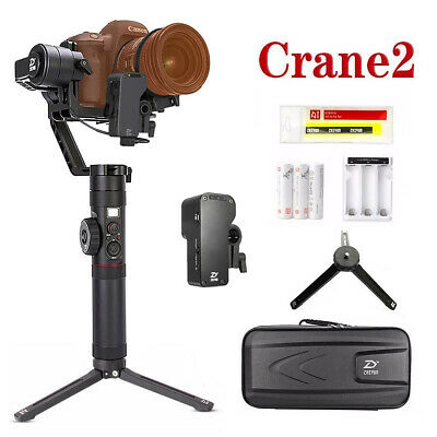 Zhiyun Crane 2 Servo Follow Focus 3-axis gimbal Stabilizer for DSLR Cameras Sony