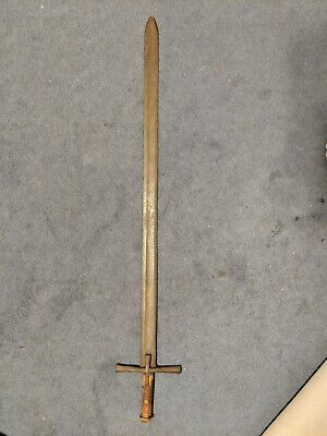 authentic genuine ancient medieval crusader sword