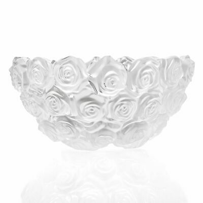 """Waterford Crystal Monique Lhuillier 7"""" Scalloped Edge Sunday Rose Bowl"""