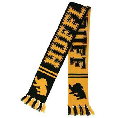 Officially Licensed Harry Potter Hufflepuff Reversible Knit High Quality Scarf