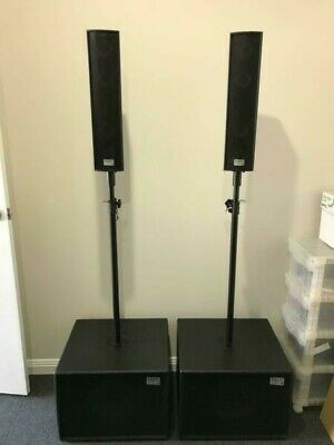 RARE Audio 900 Watt PA System D-1200