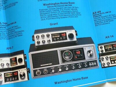 UNIDEN WASHINGTON CB radio Parts Only - $51 00 | PicClick
