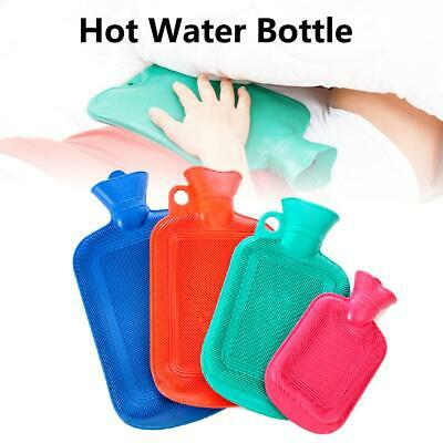 Rubber Hot Water Bottle Bag Wint Warmer Heating Warming Bottle Relaxing Therapy