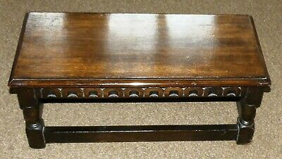 Stool Jacobean Style Low Joint  Table Unknown Wood Super Condition jslj