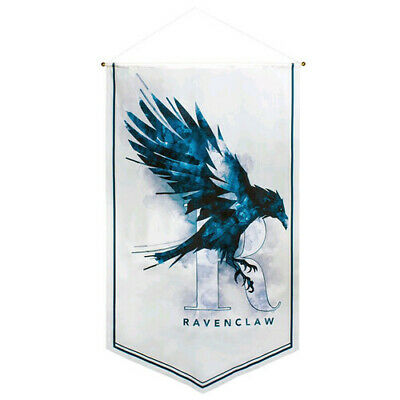 Harry Potter Ravenclaw Watercolour Satin Banner FREE Global Shipping