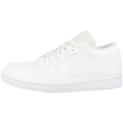 Nike Air Jordan 1 Low Schuhe Basketball Sport Freizeit Sneaker white 553558-112