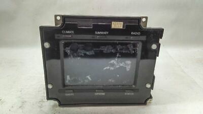 Info Information Touch Screen Climate Control Center Fits 1989  Reatta  F162