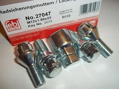 Suzuki Swift Locking Wheel Nuts WN47