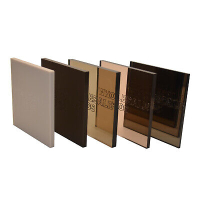Bronze/Brown Colour, Mirror & Tinted Perspex® Acrylic Plastic Sheets