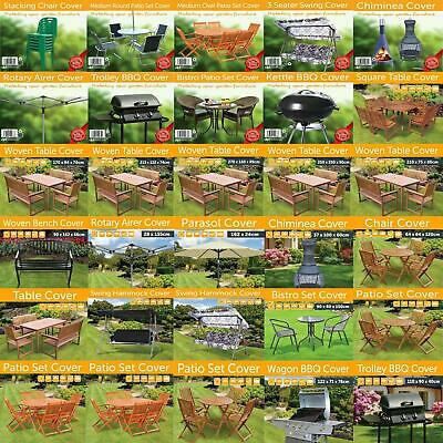 Outdoor Garden Furniture Covers Bbq Table Chairs Bench Hammock Parasol Covers