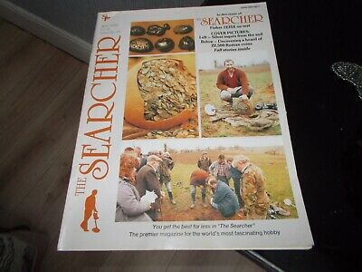The Searcher Magazine April  1989. Test Report On Fisher 1235X Metal . Detector