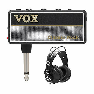 Vox AP2CR amPlug 2 Headphone Guitar Amplifier with Over-Ear Headphones