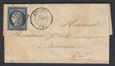 N°4 Grille Andance Ardeche Beaucaire Gard Indice 18 Lettre Cover France