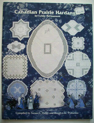 Canadian Prairie  Hardanger Embroidery  pattern booklet