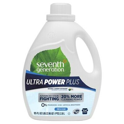 Seventh Generation Ultra Power Plus 3-in-1 - 95 fl oz - Free and Clear