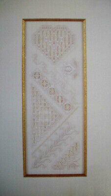 The Elegant Needle  Hardanger Embroidery  pattern booklet