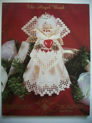 Christmas angel ornament decor  Hardanger Embroidery  pattern booklet