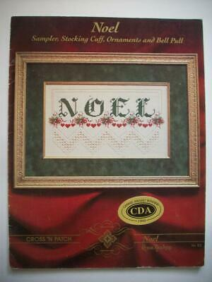 Christmas NOEL decor  Hardanger Embroidery  pattern booklet