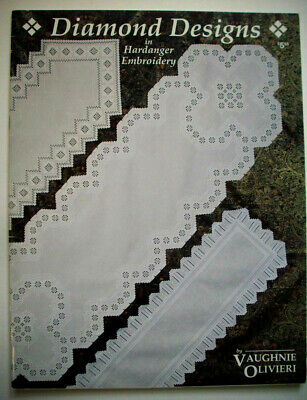 Diamond Designs   Hardanger Embroidery  pattern booklet