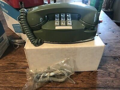 VINTAGE Bell System Telephone, Green Princess Telephone, Western Electric