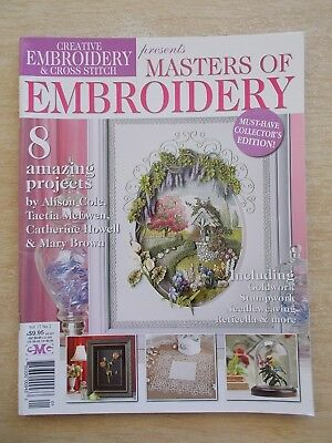 Embroidery & Cross Stitch Vol 17 #2~Master of Embroidery~Wishing Well~Elephant