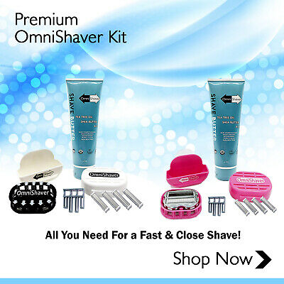 OmniShaver Kit | OFFICIAL SELLER | FAST FREE USA SHIP! SELECT A COLOR!