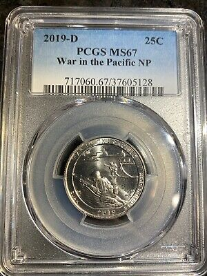 2019-D 25c War In The Pacific NP Quarter PCGS MS67