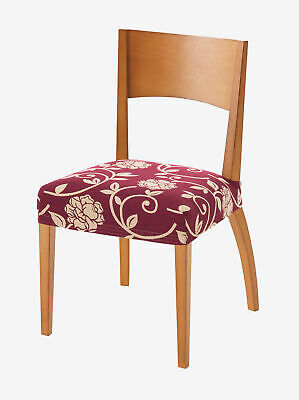 Pack of two jacquard chair seat covers - 034812