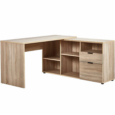 NEW Rico L-Shaped Executive Desk - In Home Furniture Style,Desks