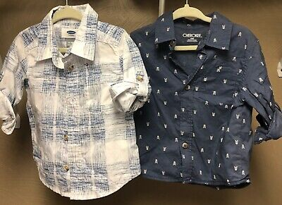 Old navy boys 12/18 month button down shirts