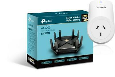 TP-Link Archer AX6000 Wireless Gigabit Gaming Router WIFI 4K Streaming 802.11ax