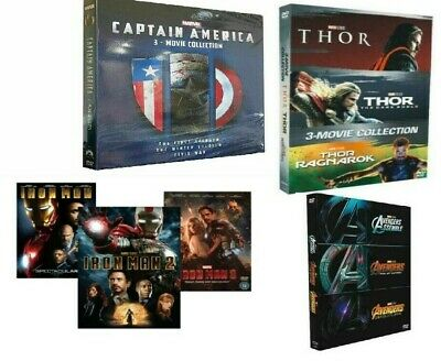 Marvel Trilogies SUPER Collection Avengers, Captain America, Iron Man, & Thor
