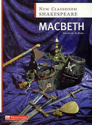 New Classroom Shakespeare: Macbeth by Jo Ryan Paperback Book Free Shipping!