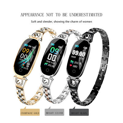 Women Smart Watch Fitness Activity Tracker Heart Monitor Fitbit for Android iOS